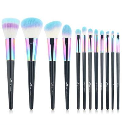 pinceaux professionnels rainbow color set complet