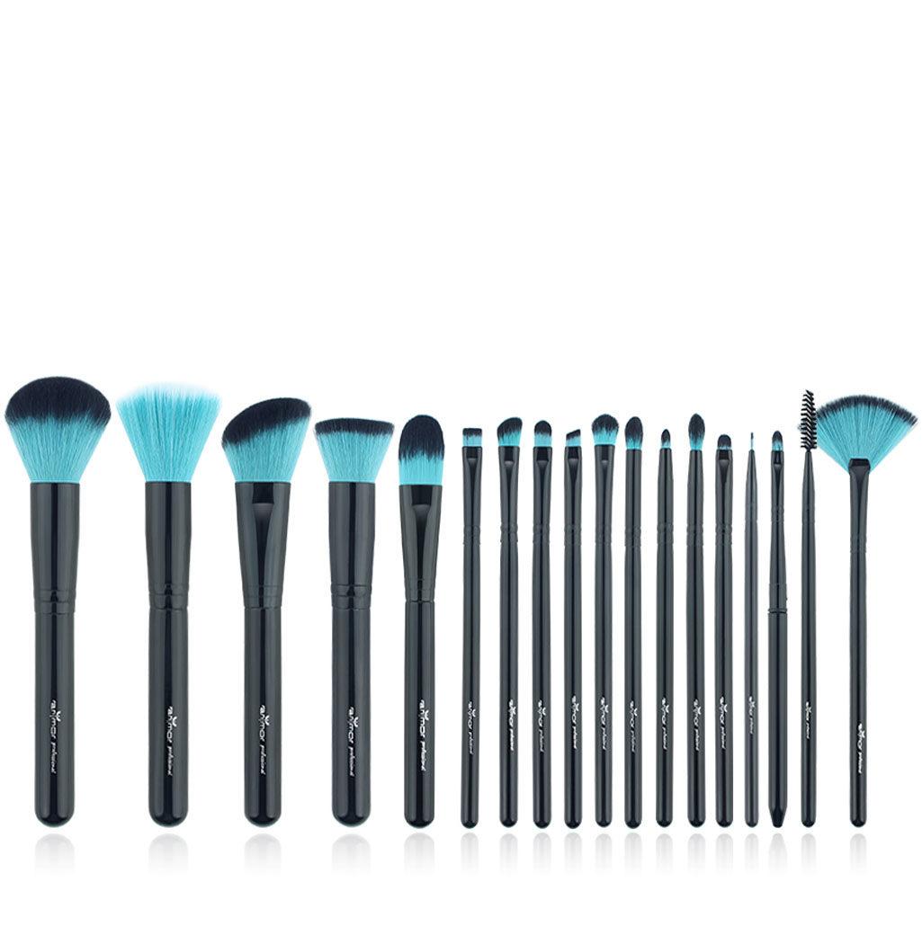 Set complet pinceaux à maquillage professionnels Bblue